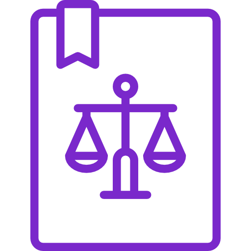 Rechtsschutzversicherung Icon